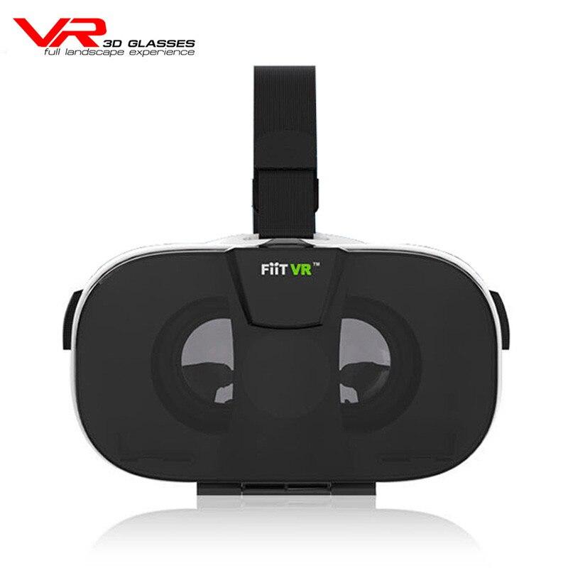 <font><b>FIIT</b></font> <font><b>VR</b></font> 2N 3D <font><b>Virtual</b></font> <font><b>Reality</b></font> Video <font><b>Helmet</b></font> Cardboard 2.0 <font><b>VR</b></font> <font><b>Glasses</b></font> Box for 4.0-6.5 Inch Smartphone <font><b>Lightweight</b></font> Ergonomic Design