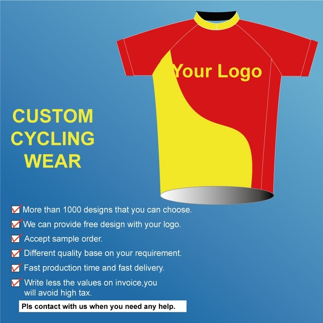 Professional Custom Service Cycling Arel Oem Sublimation Design Tops Bicycling Jersey Plain Bicycle Clothing