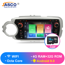 Android 9.0 Car Stereo dvd Radio GPS Navigation Multimedia Player For Toyota Yaris 2012-2017 Auto Audio WIFI Bluetooth Headunit autostereo android 8 car gps navigation car dvd player for ford focus 2012 2017 headunit audio player multimedia auto radio tape