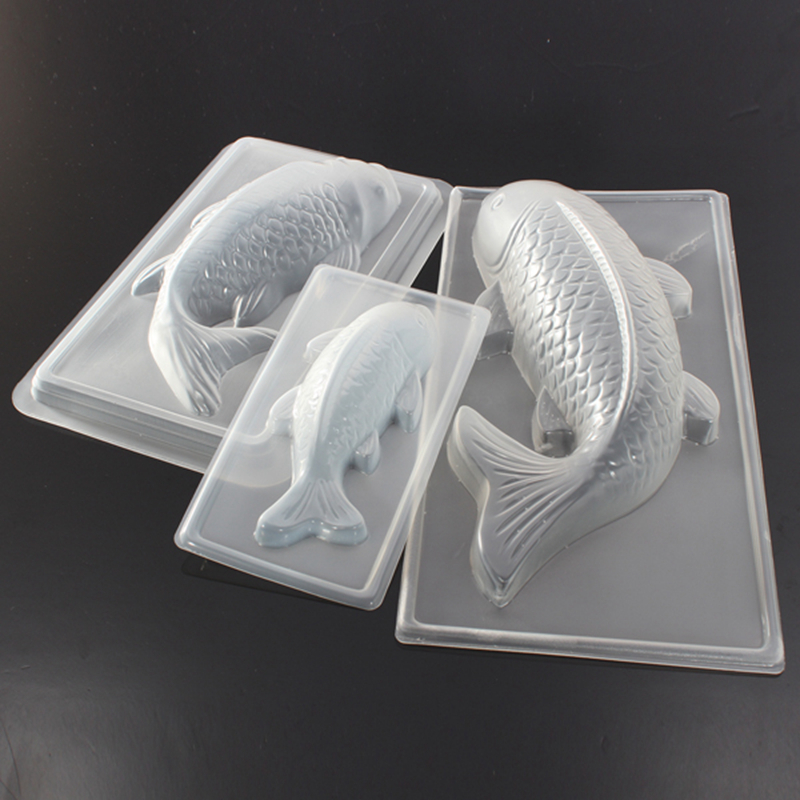 Carp Cyprinoid Fish 3D Cake Chocoladevorm Jelly Sugarcraft Mold Tool Bakken Tools