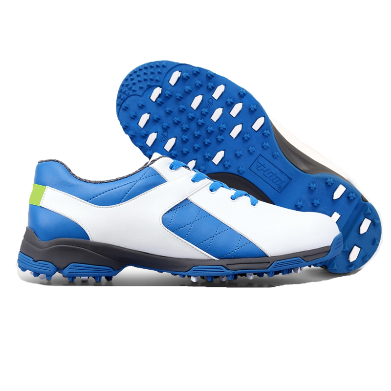 Brand PGM Adult Mens Golf Sports Shoes Anti-sideslip Technology and Waterproof and Breathable and Light Weight Golf Sneakers pgm authentic 2015 mens golf shoes men s leisure section fixed nail waterproof and breathable boys sports shoes