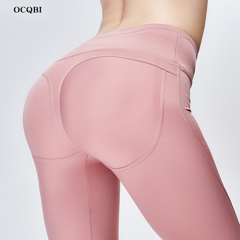 OCQBI 2019 Women Yoga Pants High Waist Sexy Leggings Fitness Workout Tights Running in Yoga Pants from Sports Entertainment