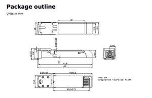 Image 4 - NETGEAR anahtarıyla uyumlu AGM734 1000BASE T bakır RJ 45 100m alıcı verici modülü SFP
