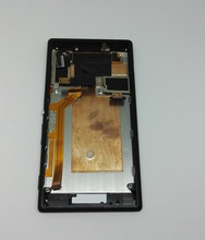 Black /White For Sony Xperia M2 D2302 D2303 D2305 D2306 Lcd display screen +Touch Panel Glass Screen +Frame replacement