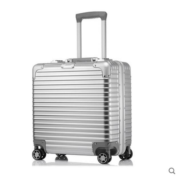 Business luggage pull rod case universal wheel password travel case new design professional universal wheel rod makeup box men and women pull rod