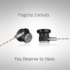 Image 3 - NICEHCK EBX zaczep na ucho słuchawki HIFI metalowe słuchawki 14.8mm dynamiczny sterownik NICEHCK flagowy zestaw słuchawkowy z odpinanym odłączanym kablem MMCX