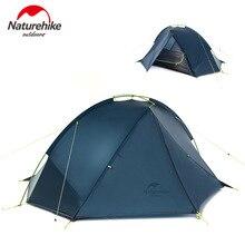 Naturehike Hiking Single Layer Ultralight 3 Season Tent Rainproof Camping Tent for 1-2 Persons Garden Sleeping Unit   NH17T140-J цены