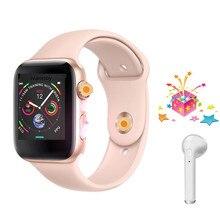 4 цвета IWO 8 Smartwatch 44 мм корпус часов серии для Xiaomi huawei samsung поддержка вызова сообщение напоминание
