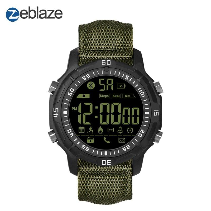 Nueva Zeblaze VIBE 2 Deportes Smartwatch $ NUMBER ATM Impermeable 540 Días En Stand-By Deportes Reloj Inteligente Para Android Y IOS