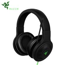 Razer Kraken Essencial Fone de Ouvido Noise Isolando fones de Ouvido Over-Analógico de 3.5mm com Microfone para PC/Laptop/Telefone 1.3 m Preto Gaming Headset