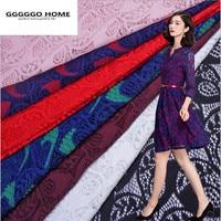 GGGGGO בית, modacrylic/בד תחרה כותנה 7 צבע כבל אפריקאי תחרה רקומה כבדה תחרה גיפור אביזרי ביגוד