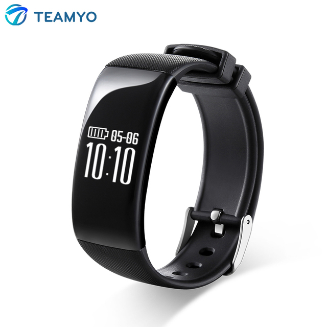 Teamyo X16 Bluetooth Smart Bracelet Heart Rate Monitor Pulse Wristband Fitness Tracker Smartband Remote Camera for IOS Android
