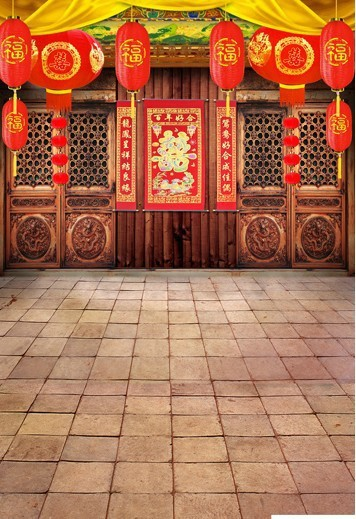 10ft*20ft(3*6m) Professional High Resolution Digital Photography Backdrop,best studio Traditional Chinese Wedding Background