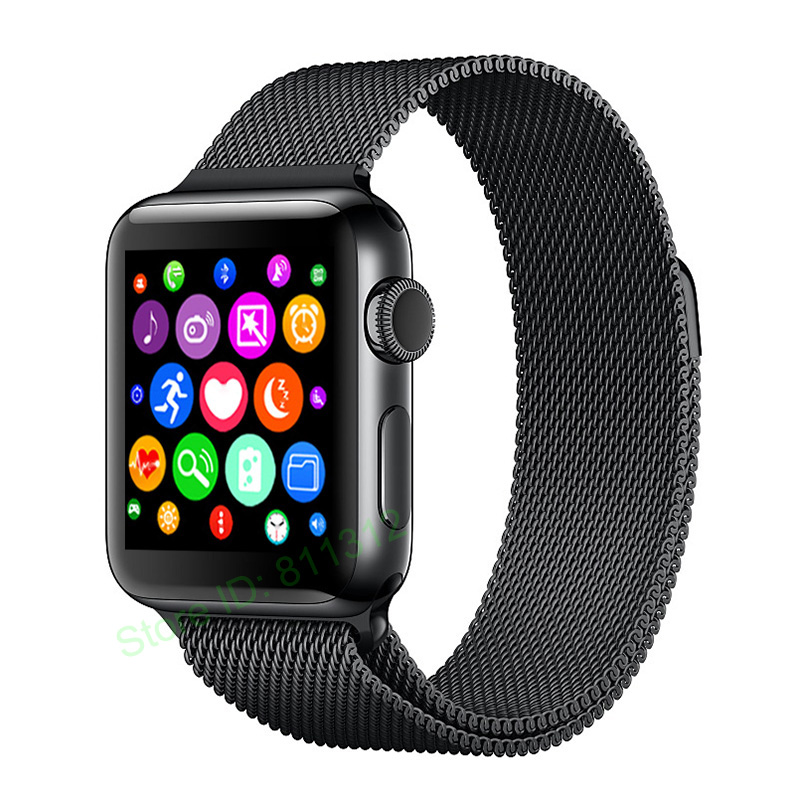 Bluetooth Smart Watch iwo 2 1:1 update SmartWatch case for apple iPhone Android Smart phone Reloj Inteligente like apple watch