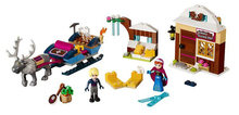 2017 New LELE Building Blocks 41066 Anna and Kristoff's Sleigh Princess SvenBricks Gifts Toys Compatible with Lego(China)
