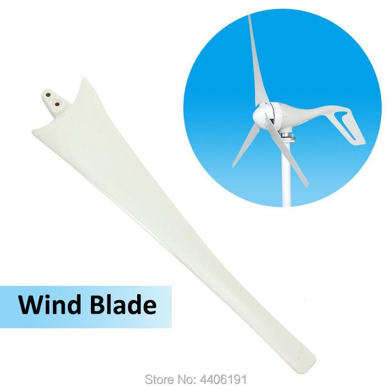 3 pcs/lot pales d'éolienne pour éolienne 400 w, 630mm 600mm 550mm longueur lames de fibres de nylon