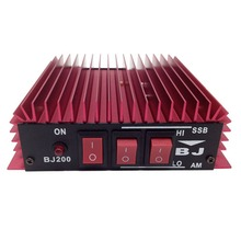 BAOJIE BJ-200 Ham CB Radio HF Power Amplifier for Ham Radio HF Transceiver Walkie Talkie Red Color A7170A