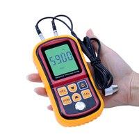 GM100 Digital LCD Ultrasonic Thickness Meter Tester Gauge Metal Testering Width Measuring Instruments FREE Shipping