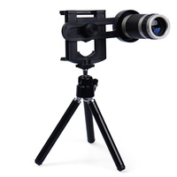 Mobile Phone Lens Universal 8X Zoom Telescope Camera Telephoto Lenses For IPhone 4 4S 5 5C