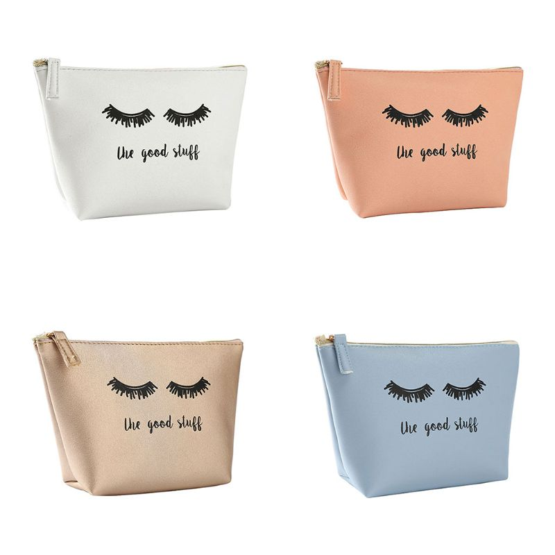 Handbag Makeup-Pouch Cosmetic-Bag Eyelash Coin-Storage-Case Travel Girls Portable Fashion