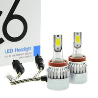 H4 H7 LED Car Headlight C6 H1 H3 Headlamp Light H8 H11 HB3 9005 HB4 9006