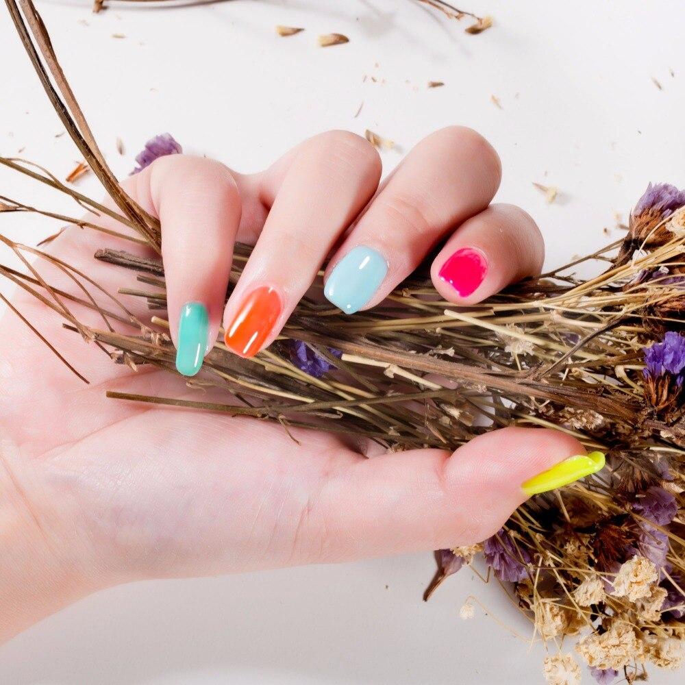 Modelones 60Pcs / Lot Толық жиынтығы Colorful UV Nail - Маникюр - фото 5