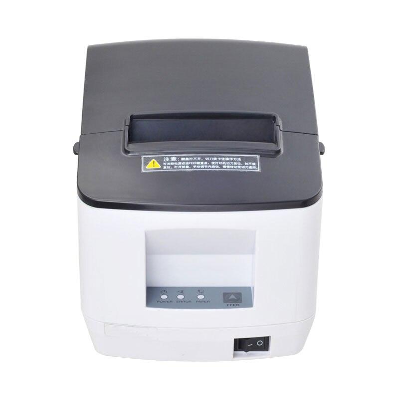 USB 80mm auto cutter imprimante thermique POS imprimante pour Les Supermarchés, personnel bureaux