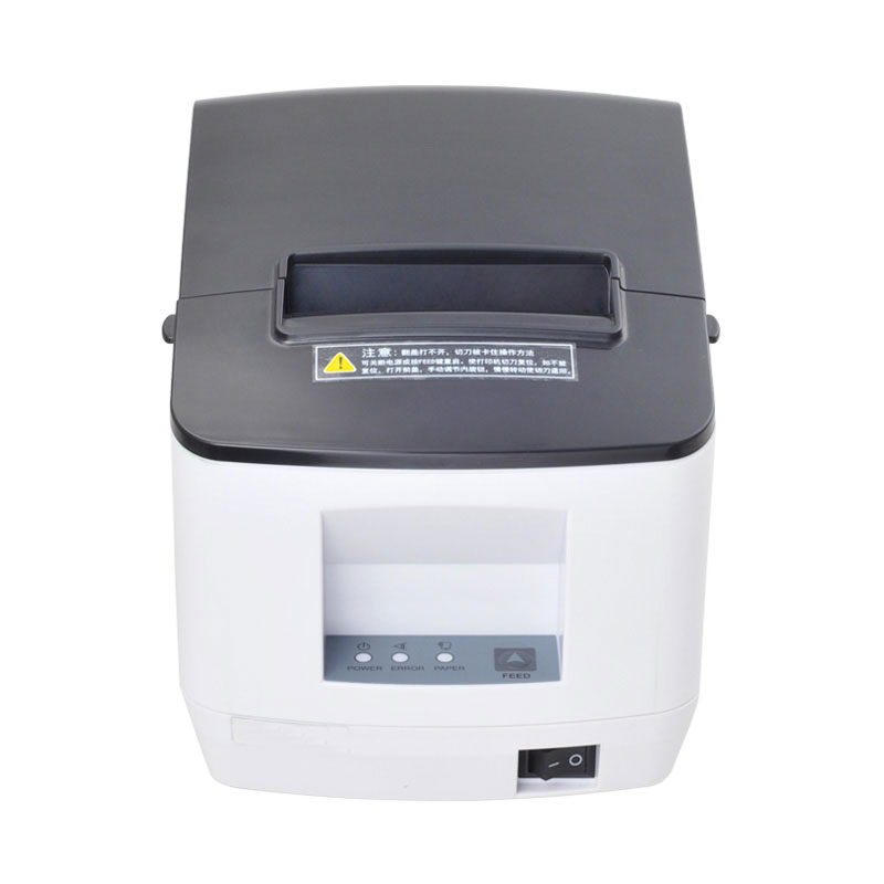 USB 80mm auto cutter thermal receipt printer POS printer for Supermarkets, personal offices image
