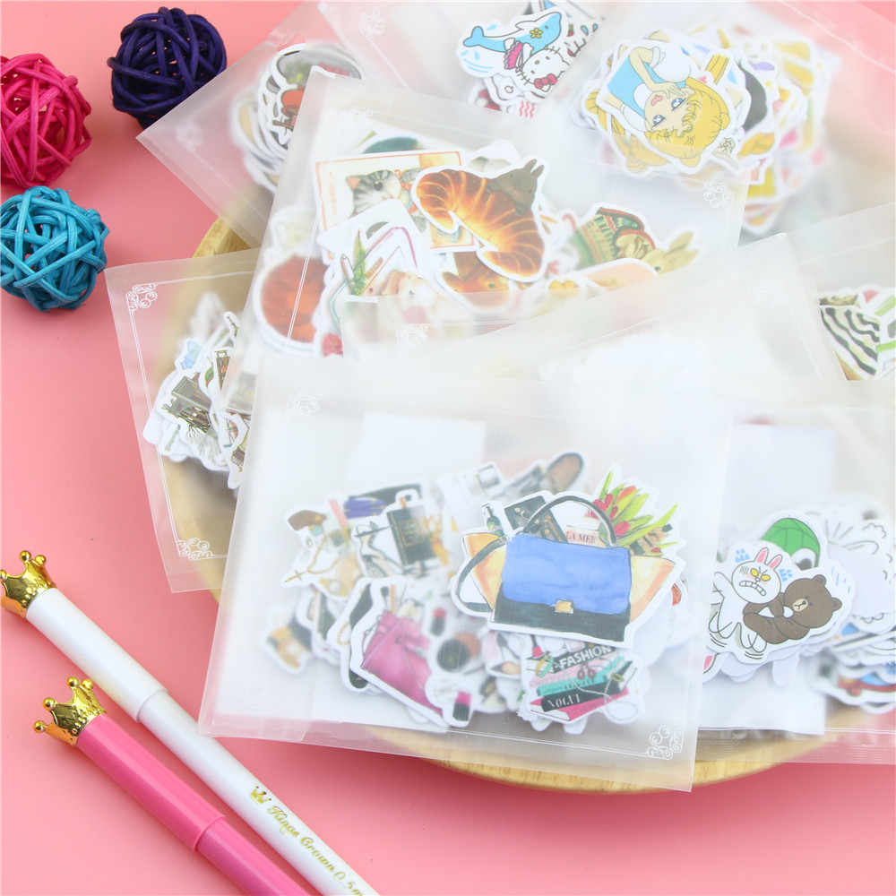 DIY милое симпатичное животное бумага Стикеры прекрасный кот s для украшения дома Скрапбукинг дневник Бесплатная доставка 1083