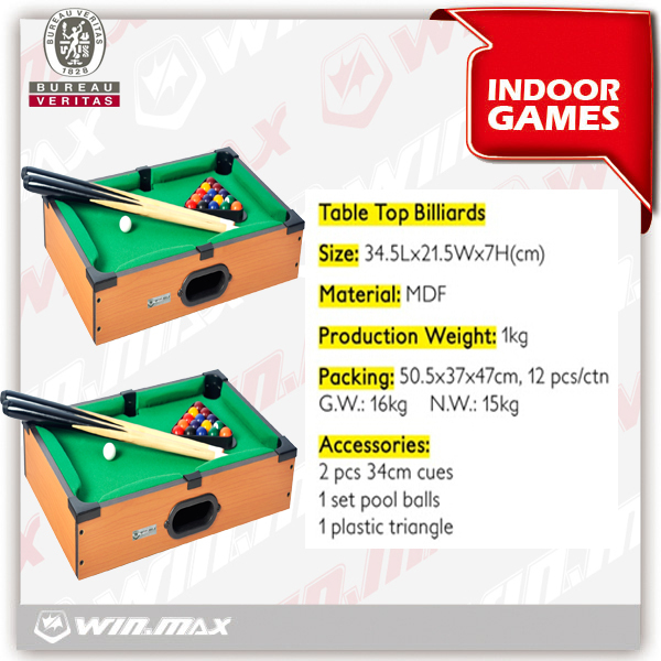 Childrens Billiard Table, American Child Snooker Table Toys for Child