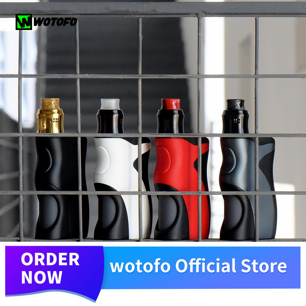 Original Wotofo Recurve Squonk Mod elektronik sigara With Wotofo Recurve RDA Tank fit 18650 20650 20700
