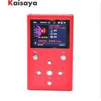 F. Аудио XS02 HiFi без потерь Музыкальный плеер двойной AK4490EQ TPA6120A2 форматы pcm и DSD цифровой аудиоплеер DAP MP3 плеер с 32 ГБ E1 003 4 5