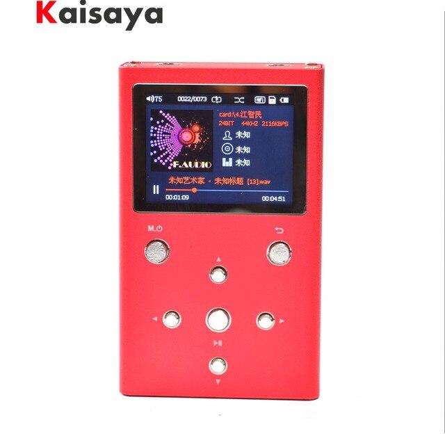F.Audio XS02 HiFi Lossless Music Player Dual AK4490EQ TPA6120A2 PCM DSD Digital Audio Player DAP MP3 Player With 32GB E1-003-4-5