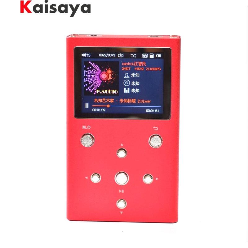 F. audio XS02 HiFi Sans Perte Musique Lecteur Double AK4490EQ TPA6120A2 PCM DSD Numérique Audio Lecteur DAP MP3 Lecteur Avec 32 gb e1-003-4-5