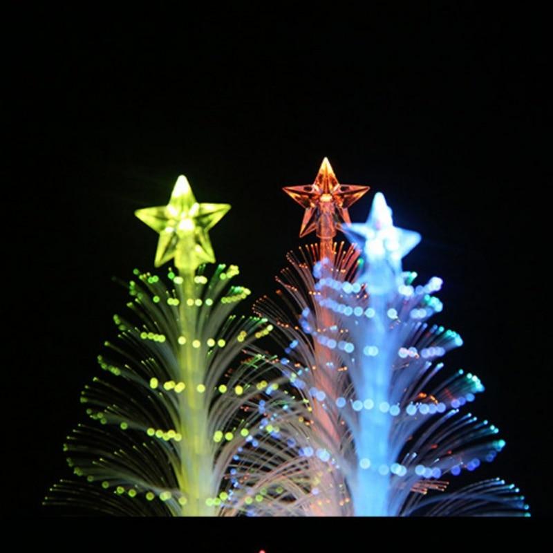 СВЕТОДИОДНЫЙ световой Новогодние ёлки украшение вспышки свет, сияющий елка Decor Светящиеся в темноте домашний стол декора рождественские ук... ...