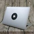 """Дизайн моды Win10 Логотип Углеродного Волокна для Ноутбука Наклейка для Apple Macbook Pro Air Retina 11 """"12"""" 13 """"15"""" Ноутбук Этикета"""