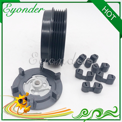 A/C sprężarka klimatyzacji elektromagnetyczne sprzęgło magnetyczne dla MERCEDES BENZ W245 B150 B160 B170 B180 B200 A0012303511 w Wentylatory i zestawy od Samochody i motocykle na
