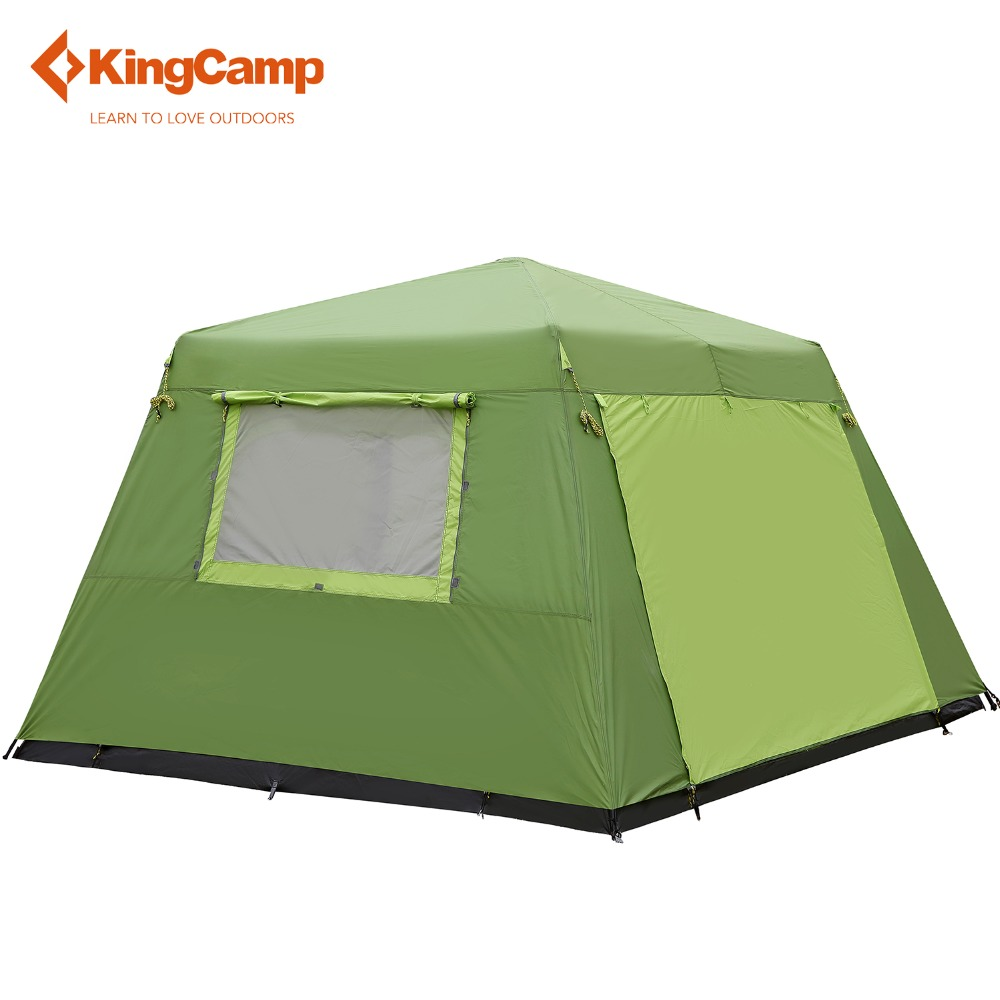 1c6fa30d3d KingCamp 10 Person Two Bedroom Camping Tent Waterproof Breathable Durable  Windproof Outdoor Big Space Family Party tents -in Tents from Sports ...