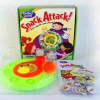 Snack Aanval Puzzel Bordspel voor Familie/Party/Vrienden Grappig Spel Beste Cadeau voor Kinderen Engels Versie