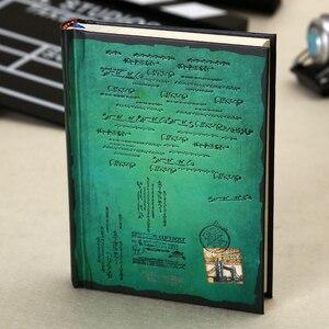 Image 5 - Винтажный блокнот в твердом переплете, бумажный личный дневник, дневник, планер, ретро подарки, канцелярские принадлежности, Офисная школа