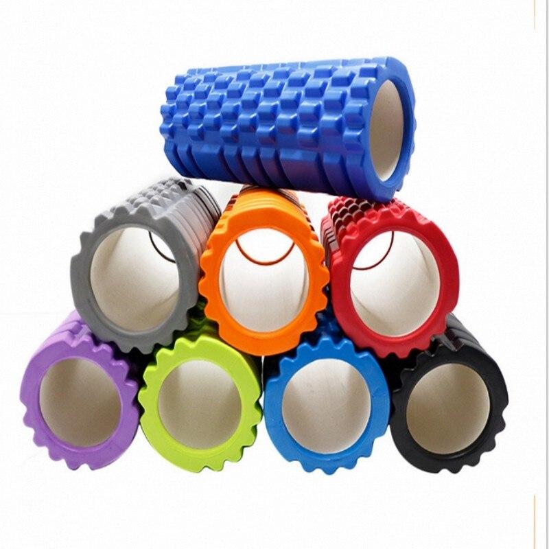 ✔  7 цветов Yoga Foam Роликовые блоки Поезд Тренажерный зал Массажная сетка Триггерная точка Терапия Фи ✔