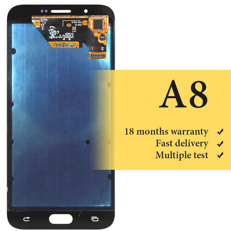 htc a810e刷机_100% test good quality For Samsung A8 2015 lcd screen digitizer for mobile phone A800 ...