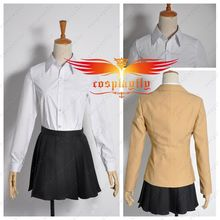 Attack on Titan Junior High School Mikasa Ackerman Uniform Cosplay Costume Custom Made Academy Skirt (2 Variants)