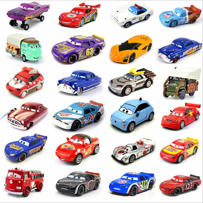 Pixar Cars 2 /& 3 McQueen Racing Family Diecast Toy Car 1:55 Loose Gifts For Kids