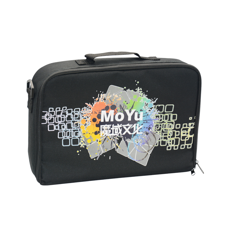 Moyu Cube Bag Black Shoulder Bags For Magic Puzzle Cube 2x2 3x3 4x4 5x5 6x6 7x7 8x8 9x9 10x10 ALL Layer Toys z cube bundle black knight 2x2 3x3 4x4 5x5 speed cube set cube pack puzzle carbon fiber cube magic fidget toy gift box