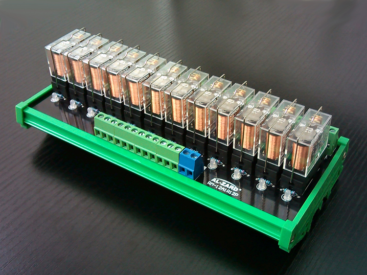 12 way 10A Relay Module Module Output Board Expansion Board RM 10A1R12P|Cable Winder| |  - title=