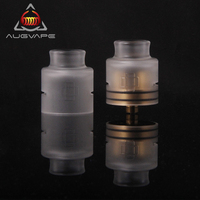 Augvape Druga RDA Acrylic Replacement Top Cap Kit For Druga RDA Electronic Cigarette Tank Atomizer Dripka