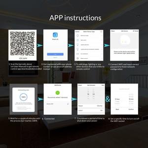 Image 5 - Ntonpower Wifi Plug Smart Eu Socket Met App Afstandsbediening Timer Wifi Socket Afstandsbediening Draadloze Controles Voor Alexa