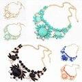 Ожерелье яна ювелирные изделия 2015 новой высокое качество ювелирные изделия красочный камень женщина поп-воздушными рождественский подарок и кулоны
