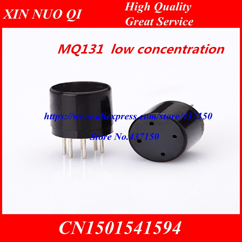 Professional Sale 5pcs X,semiconductor Ozone Gas Sensors Mq131 Mq-131 Low Concentrations Active Components Wei Sheng Genuine
